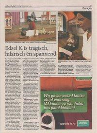 Edsel K. is tragisch, hilarisch én spannend
