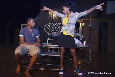 Bijzondere uitvoering Tisha op World Theater Day